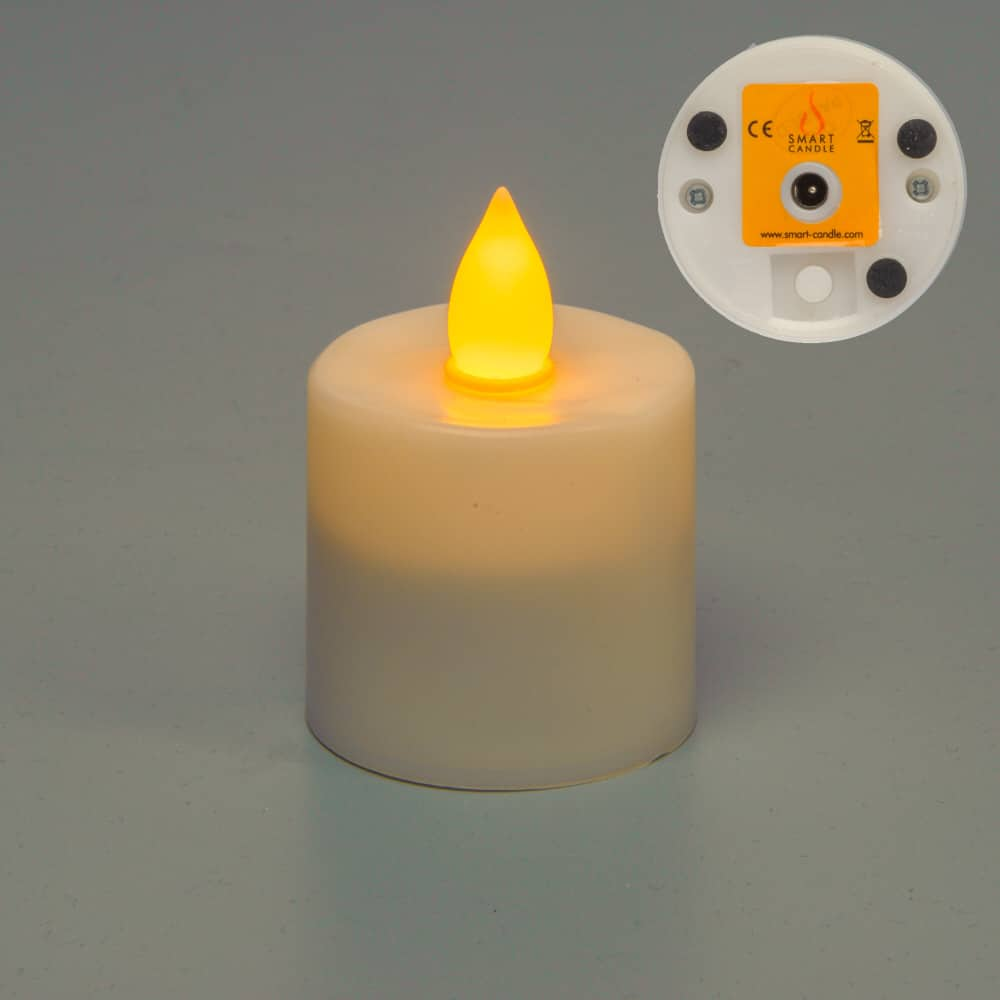 Gen 3 Amber Flame Flame Rechargeable Candle SC1109A