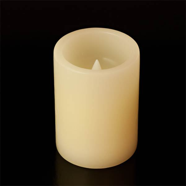 3 x 4  Battery operated wax candles SC3874