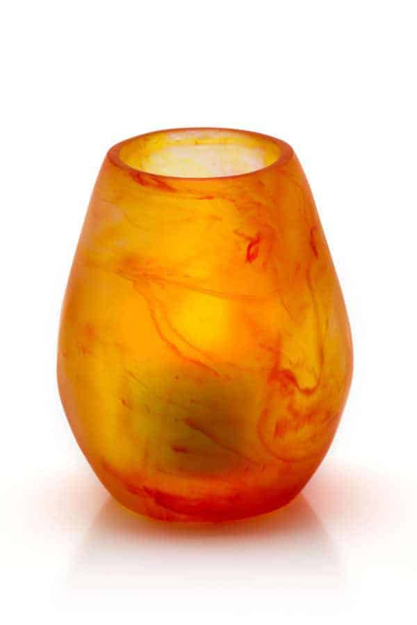 Amber Red Orb Holder SCH2400AM