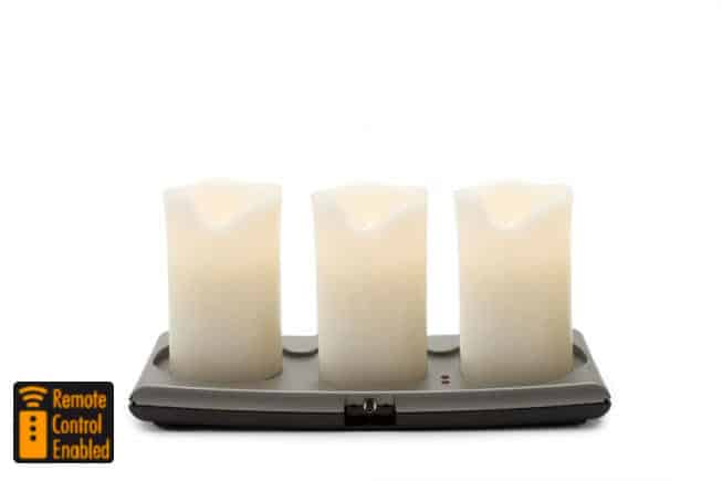 Rechargeable Wax Candle System