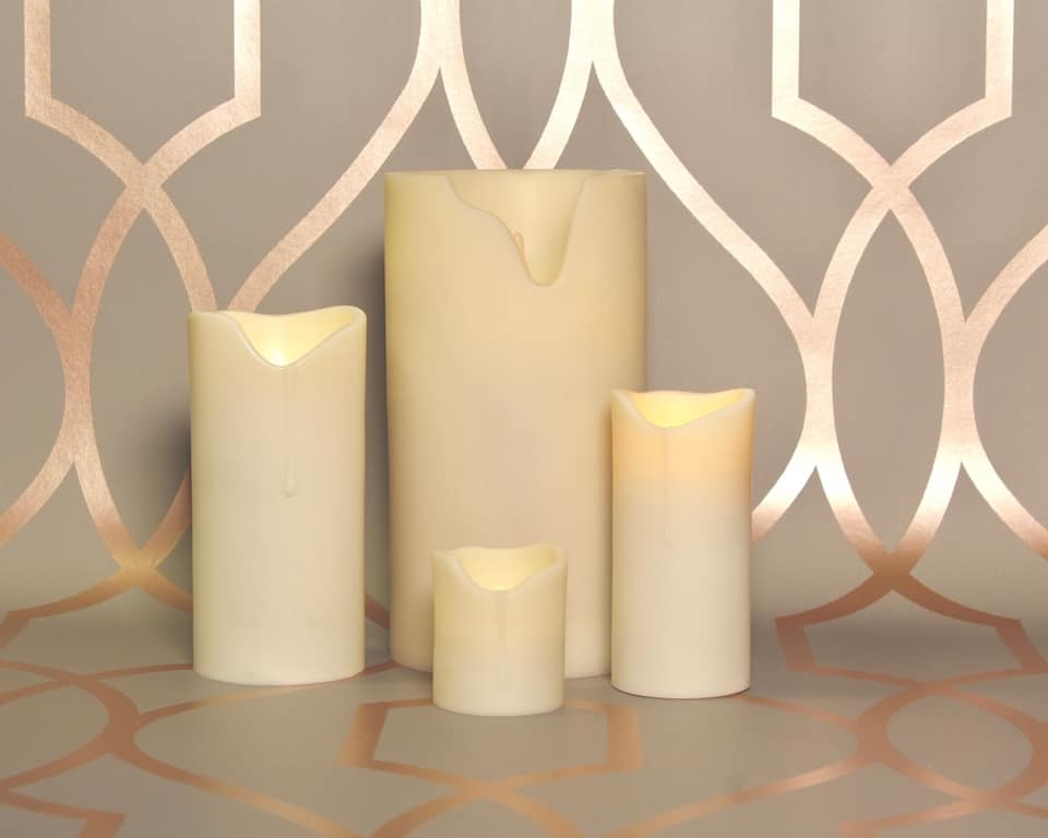 Imitation Wax & Outdoor Candles